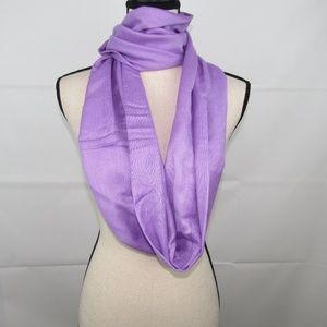 Infinity Shawl Pashmina Lavender Purple Hand Made